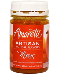 Additifs de brassage - Amoretti - Artisan Natural Flavors - Manguo 226 g