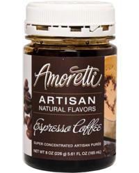 Accessoires du brasseur - Amoretti - Artisan Natural Flavors - Espresso 226 g