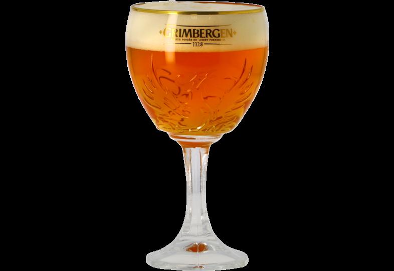 """Ölglas - Verre Grimbergen """"Phoenix"""" - 33 cl"""
