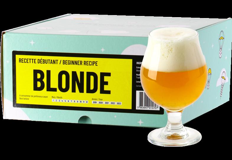 Kit à bière tout grain - Recette Bière Blonde - Recharge pour Beer Kit Débutant