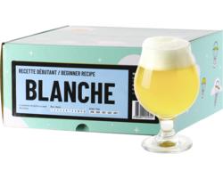 Kit à bière tout grain - Recette Bière Blanche - Recharge pour Beer Kit Débutant