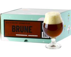 Kit à bière tout grain - Recette Bière Brune - Recharge pour Beer Kit Débutant