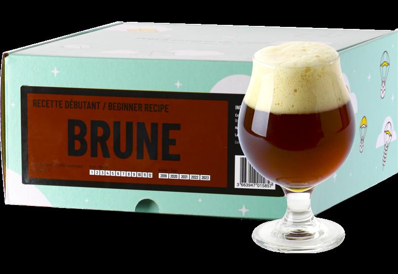 Kit de bière tout grain - Recette Bière Brune - BeerKit Débutant