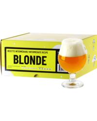 Kit à bière tout grain - Recette Bière Blonde - Recharge pour Beer Kit Intermédiaire