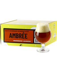 Kit à bière tout grain - Recette Bière Ambrée - Recharge pour BeerKit Intermédiaire