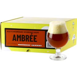 Kit à bière tout grain - Recette Bière Ambrée - Recharge pour Beer Kit Intermédiaire