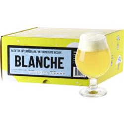 Kit à bière tout grain - Recette Bière Blanche - Recharge pour Beer Kit Intermédiaire