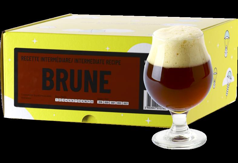 Kit ricette per tutti i grani - Recette Bière Brune - BeerKit Intermédiaire
