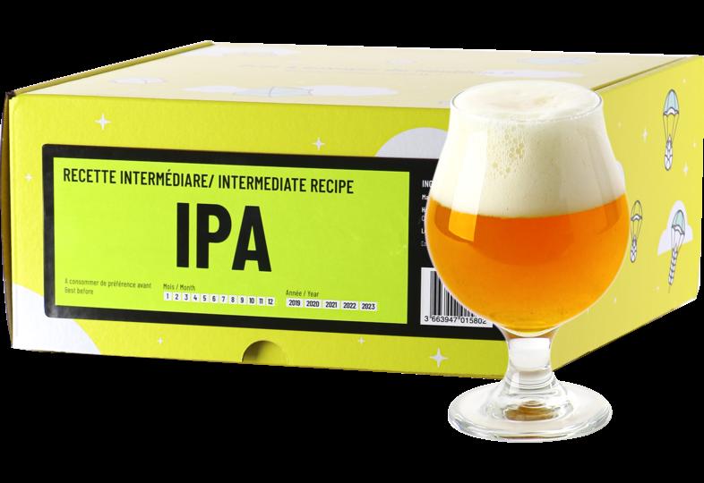 Kit à bière tout grain - Recette Bière IPA - Recharge pour Beer Kit Intermédiaire