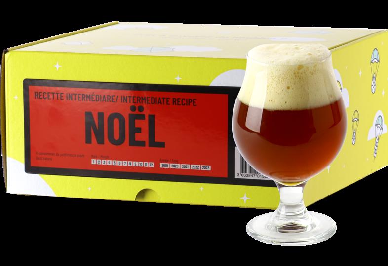 Kit à bière tout grain - Recette Bière de Noël - Recharge pour Beer Kit Intermédiaire