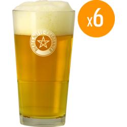 Bierglazen - Verre Motte - Cordonnier x6