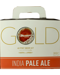 Kit de bière - Muntons Gold India Pale Ale Beer Kit