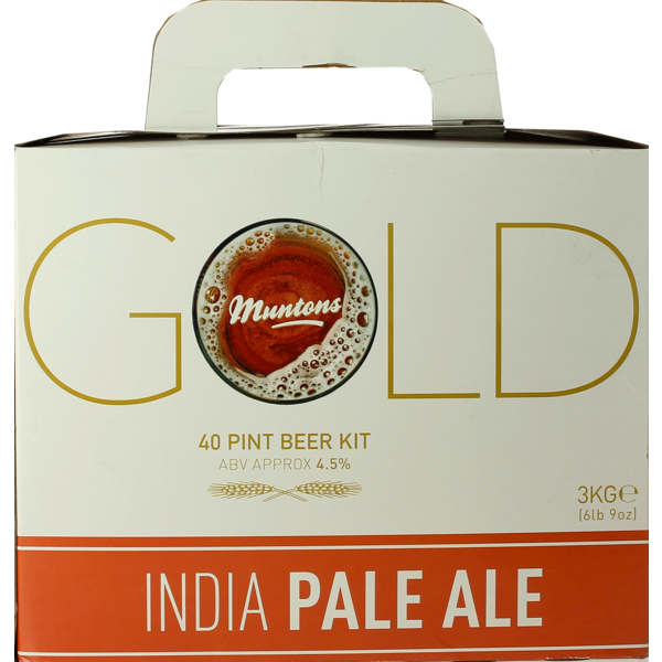 Muntons Gold India Pale Ale Beer Kit