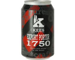 Bouteilles - Kees Export Porter 1750 - Canette