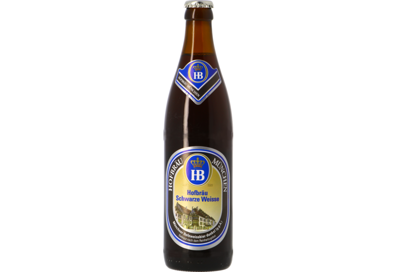 Bouteilles - Hofbräu Schwarze Weisse