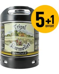 Kegs - Pack 5 fûts 6L de Tripel Karmeliet + 1 Offert
