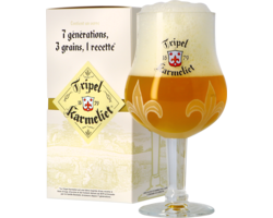 Beer glasses - Coffret Verre Tripel Karmeliet - 25 cl