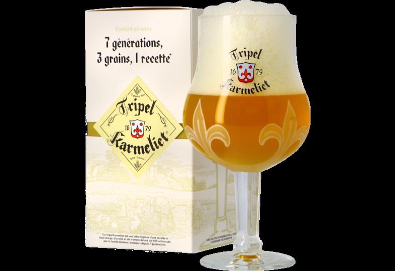 Verres à bière - Coffret Verre Tripel Karmeliet - 25 cl