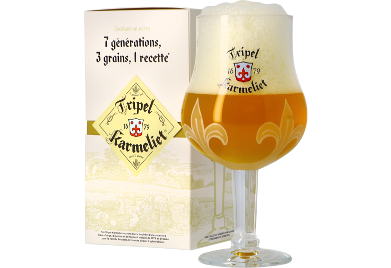 Bicchieri - Bicchiere Karmeliet 25cl + Giftbox