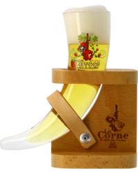 Bicchiere - Verre La Corne du Bois des Pendus Dégustation + pied bois - 15cl