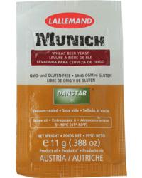 Levures de brasserie - Levure Lallemand Munich 11 g