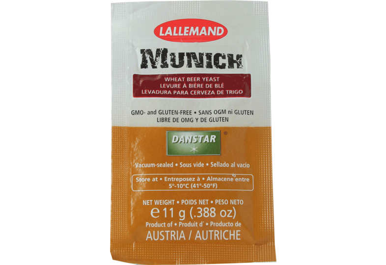 Levures de brasserie - Lallemand Munich Yeast 11g