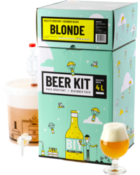 Moutpakket - Beer Kit Beginners: Blond Bier