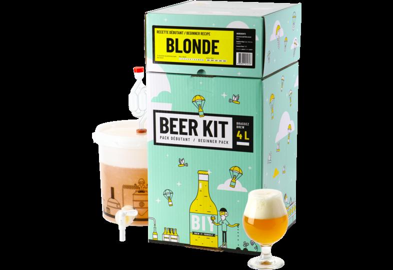 Kit ricette per tutti i grani - Kit Birra Principiante, preparo una birra bionda