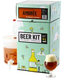Kit à bière tout grain - Beer Kit Débutant, je brasse une bière Ambrée