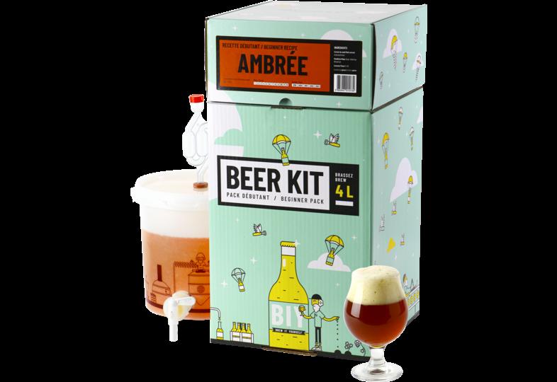 Kit à bière tout grain - Beer Kit Débutant Bière Ambrée