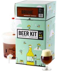 Kit à bière tout grain - Beer Kit Débutant, je brasse une bière Brune