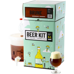 All-Grain Bier Kit - Biebrouwpakket Beginner - Donker bier