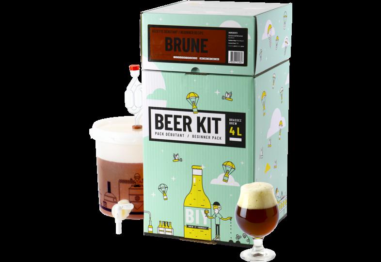 Kit à bière tout grain - Beer Kit Débutant Bière Brune