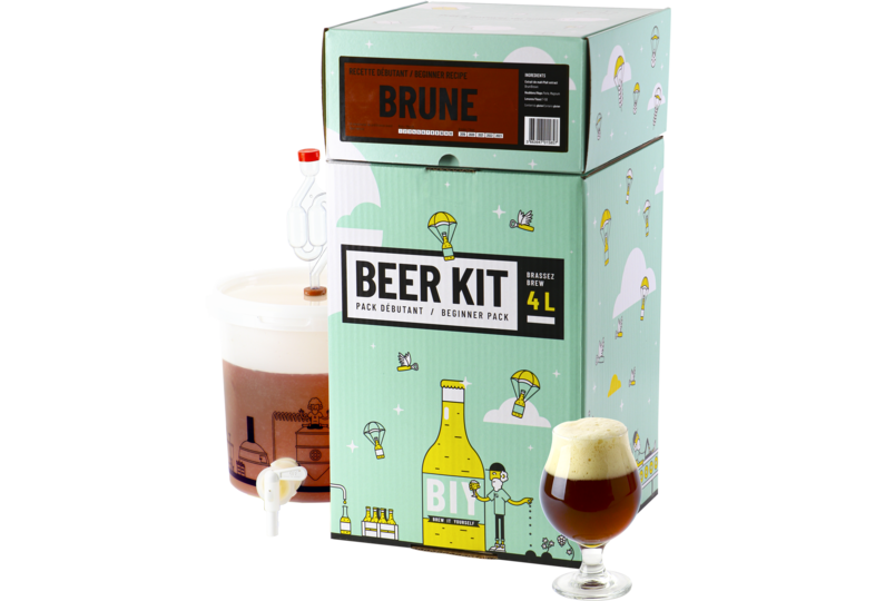 All grain ölkit - Beer Kit Débutant Brune