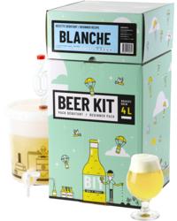 Kit à bière tout grain - Beer Kit Débutant, je brasse une bière Blanche