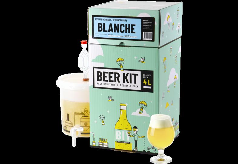 Moutpakket - Bier brouwkit Witbier voor beginners.