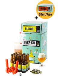 Kit à bière tout grain - Beer Kit Débutant, je brasse et j'embouteille une bière blonde et ambrée