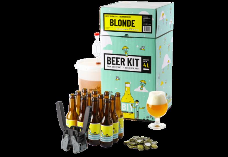 Kit ricette per tutti i grani - Beer Kit Débutant COMPLET Blonde