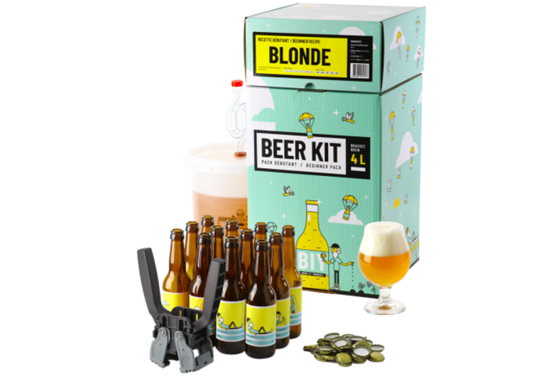All-Grain Beer Kit - Beer Kit Débutant complet Blonde