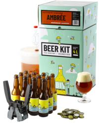 Kit à bière tout grain - Beer Kit Débutant, je brasse et j'embouteille une bière Ambrée