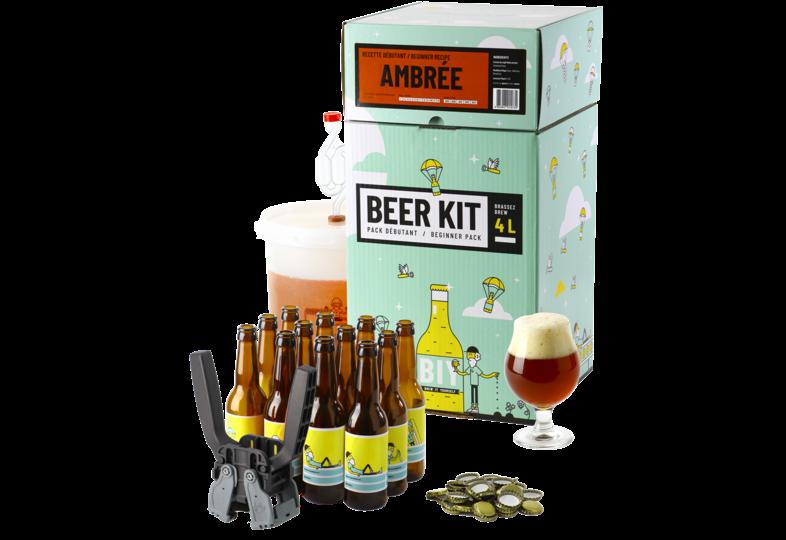 Moutpakket - Brouw Kit Beginners: ik brouw en bottel Amberbier