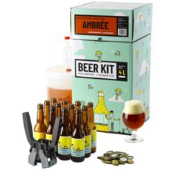 Kit à bière tout grain - Beer Kit Débutant Complet Bière Ambrée