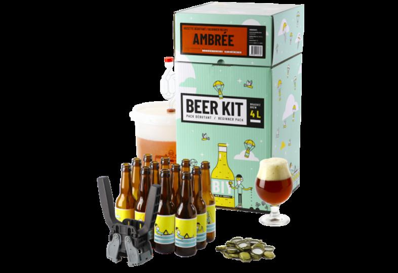 All-Grain Beer Kit - Beer Kit Débutant Complet Ambrée
