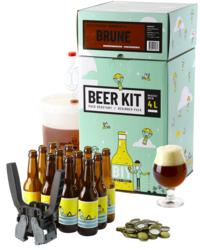 Moutpakket - Complete brouwkit beginners: Bruin bier