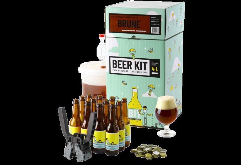 Kit de bière tout grain - Beer Kit COMPLETO de iniciación - Cerveza oscura