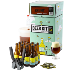 All-Grain Bier Kit - Biebrouwpakket Beginner Compleet - Donker bier