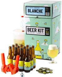 Kit à bière tout grain - Beer Kit Débutant, je brasse et j'embouteille une bière blanche