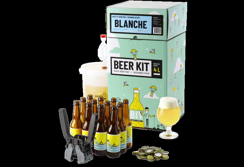 Kit à bière tout grain - Beer Kit Débutant Complet Bière Blanche