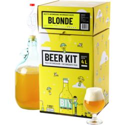 Kit ricette per tutti i grani - Kit di brassaggio intermedio - Birra bionda