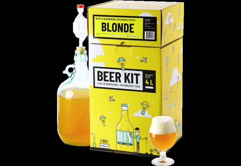 Kit ricette per tutti i grani - Kit di birra esperto, preparare una birra bionda